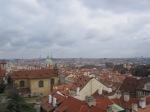 Prague's skyline.