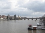Looking at across the Vltava river.